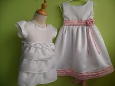 custom made fower girl dress for beach wedding at www.littlehavenboutique.com