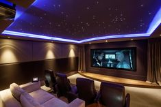 100 Awesome Home Theater and Media Room Ideas for 2018 | Pinterest ...
