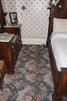 Lizzie Borden House - Guest Room. Abbey met her maker here.
