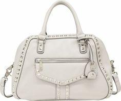 Jessica Simpson  Bel Air Satchel Cotton White - via eBags.com!