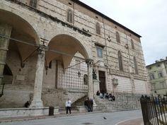 Piazza ⅣNovembre, Perugia,Italia