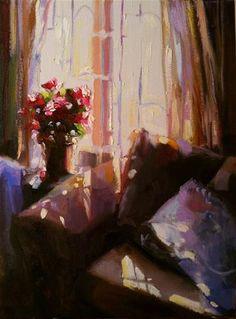 """""""MATHILDA SE VENSTER"""" - Original Fine Art for Sale - © Cecilia Rosslee"""