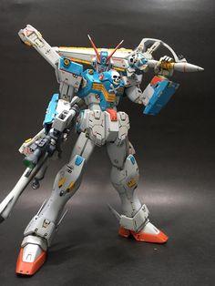MG 1/100 Crossbone Gundam X3 - Customized Build