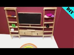 In this video, I will show you how to make a very nice miniature living room using popsicle sticks and bamboo sticks. Popsicle Stick Crafts House, Popsicle Sticks, Craft Stick Crafts, Craft Sticks, Miniature Furniture, Dollhouse Furniture, Tyni House, Home Crafts, Diy Crafts