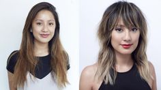 Hairstory Staff Makeover: Chrissy Teigen-Inspired Hair Transformation on… Mahogany Hair, Healthy Hair Tips, Hair Color For Women, Haircut And Color, Fancy Hairstyles, Smooth Hair, Hair Painting, Hair Transformation, Cool Haircuts