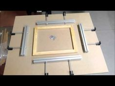 An easy and reliable way to re-mesh screen frames. Screen Printing Frame, Screen Printing Machine, Printing Press, Screen Material, Mesh Screen, Work Tools, Diy Home Crafts, Homemade, Prints