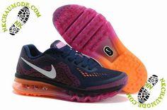 chaussure nike air max tn 2014 Femme Pourpre/Rose/Orange