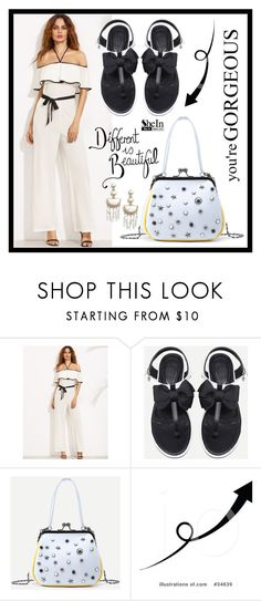 """""""SheIn 8."""" by fashion-rebel-chic ❤ liked on Polyvore featuring BaubleBar"""