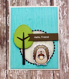 Diary of an Inky Girl…: One Stamp set - three cards! Happy Hedgehogs