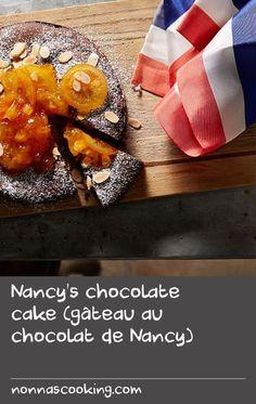 Nancy's chocolate cake (gâteau au chocolat de Nancy) Cake Recipes At Home, Delicious Cake Recipes, Easy Cake Recipes, Yummy Cakes, Yummy Food, Cooking Chocolate, Tasty Chocolate Cake, Chocolate Lovers, Sage Recipes