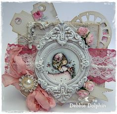 Magnolia Mini World-Wedding Tilda - Debbies Magnolia Cards