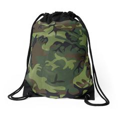 #Woodland #Green #Camouflage with Hidden Face by #sandyspider #bag #redbubble