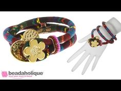 How to Make a Cotton Cord Bracelet by Fernando DaSilva - YouTube