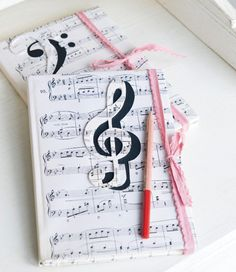 Scrapbook page, our favorite lyrics and quotes Music Notebook, Music Journal, Diy Notebook Cover, Notebook Design, Scrapbook Cover, Arts And Crafts For Teens, Life Binder, Cute Journals, Diy School Supplies
