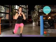 There are certain types of stretches & exercises you can do to fix your knee pain. Ashley Borden shows you what to do to fix your knee pain in 7 minutes.