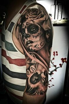 Santa Muerta tattoo