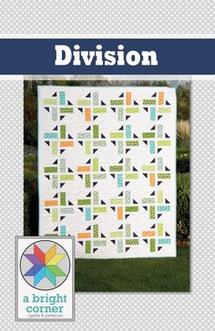 Image of Division quilt pattern - PDF version