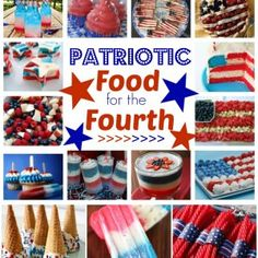 Fun Patriotic Food for the Fourth!