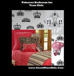 Teen, Bedroom, inspiration, zebra, black, and, white, hot, pink, sophisticated, cool, designer, luxury, bedding, bed sets, comofrter, quilts, linens