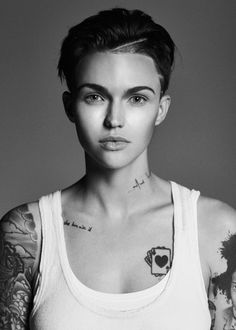 Ruby Rose~ she is literally my heaven! She is so FUCKING gorgeous it's not fair!