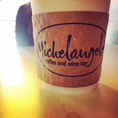 {Espresso yourself at @michelangelosok} Try a baristas favorite flavor combination and don't forget to sing loud during open mic night every Thursday evening!