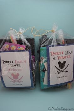 Party Like a Pirate Fish Extender Idea - Disney Cruise Line www.themagicalescape.com