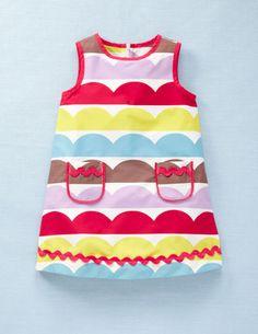 Mini Boden - funky print dress