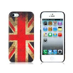 Amazon.com: Retro British National Flag Pattern Protective Case for iPhone 5: Electronics