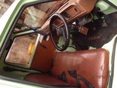 Suzuki 1980 Hijau Muda (D) Originale Suzuki Carry, Pickup Trucks, Vehicles, Car, Vehicle, Ram Trucks, Tools