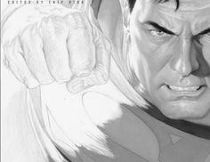 "O Alex Ross θεωρείται μορφή στο χώρο των κόμικς, έχοντας σχεδιάσει εμβληματικές ιστορίες και τους διασημότερους ήρωες, όπως ο Superman, Batman και ο Captain Marvel. Στο βιβλίο ""Rough Justice, The DC Comic sketches of Alex"