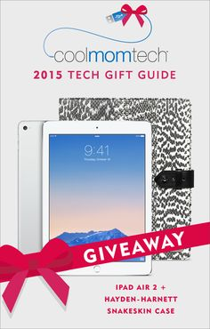 Oh, just a really cool free holiday tech giveaway for one of our awesome readers.