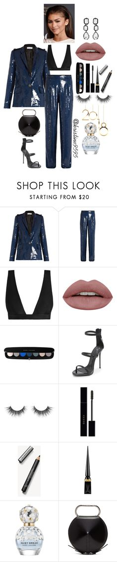 """""""New Year's Eve Party #5"""" by kristine9595 ❤ liked on Polyvore featuring Sonia Rykiel, Zimmermann, Marc Jacobs, Giuseppe Zanotti, Gucci, Burberry, Christian Louboutin, 3.1 Phillip Lim and AMBUSH"""