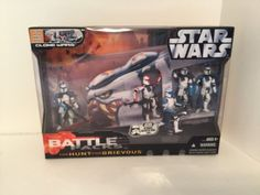 Hunt for Grievous Star Wars Battle Pack Clone Troopers Galactic Hunt Unopened #Hasbro
