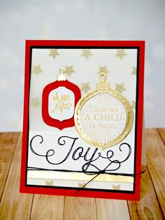 Lil' Inker Designs October Release Blog Hop car by Laura Williams, featuring Oh My Ornaments dies and All The Christmas You'll Ever Need stamp set