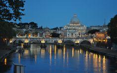 Tiber River at dawn