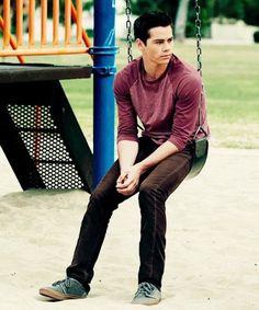 Dylan O'Brien as Stiles Dylan O'brien, Teen Wolf Dylan, Stiles, The First Time Movie, Meninos Teen Wolf, Bae, Daniel Sharman, Im Jealous, O Brian
