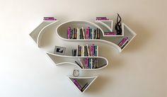 Superhero Inspired Bookshelves Are Here