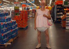 Big Baby at Walmart - Funny Pictures at Walmart