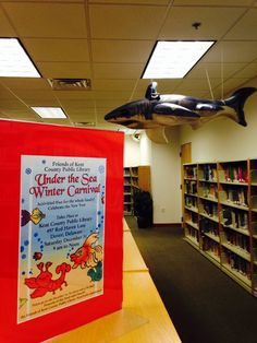 """The Shark Tank! Perfect for """"Under the Sea,"""" December 31 from 9 am-Noon!"""