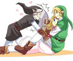 The Legend of Zelda: Ocarina of Time fan art - #DarkLink