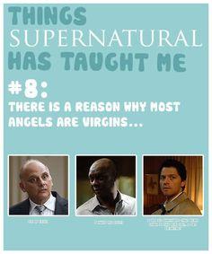 Things #Supernatural Has Taught Me 8