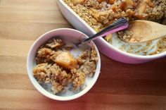 What's Up Buttercup: Apple Cinnamon Baked Oatmeal