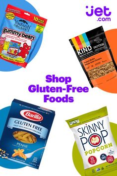 Diet Plans: Jets online specialty food shop has good food for every diet and every appeti Gluten Free Snacks, Gluten Free Diet, Foods With Gluten, Gluten Free Cooking, Healthy Snacks, Healthy Eating, Eating Clean, Healthy Life, Gf Recipes