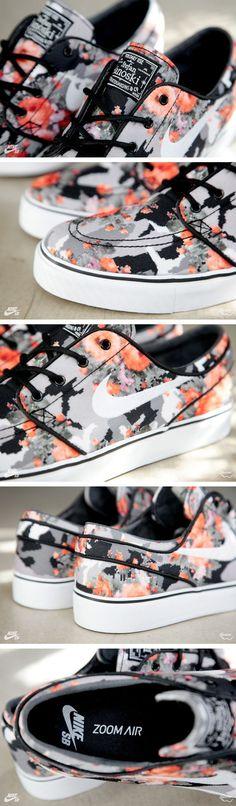 "Nike SB Janoski ""Floral Mandarin Camo"" (Release Info & Detailed)"