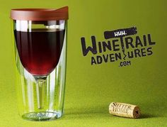 GIVEAWAY The Vino2Go...a.k.a the Wine Sippy Cup.  Whether you are going boating camping lounging by the pool or just don't want to spill your precious wine this is the ultimate wine lovers gift!  FOLLOW us on Facebook and SHARE this image for your chance to win one!  #linkinbio