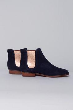 Chaussure Londonienne Marine / BOBBIES - MAJESTIC