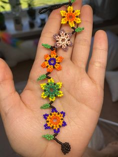 Beautiful hade made shining bracelet I will pack it carefully if you buy more of one I will make you a huge discount! Diy Bracelets Easy, Bracelet Crafts, Flower Bracelet, Handmade Bracelets, Handmade Jewelry, Beaded Flowers Patterns, Beaded Bracelet Patterns, Beaded Bracelets, Seed Bead Jewelry