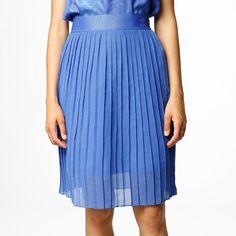 Kjol - Ocean Elements Pleated Skirt