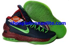 detailed look 5b675 83234 Nike Zoom KD V Cheap Dark Blue Red Green 554988 103 Nike Shoes For Sale,