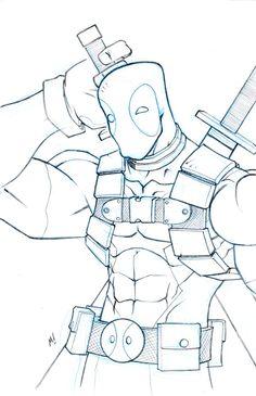 Deadpool Commission by Zatransis.deviantart.com
